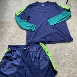 Awesome Men's Nike running outfit size XL